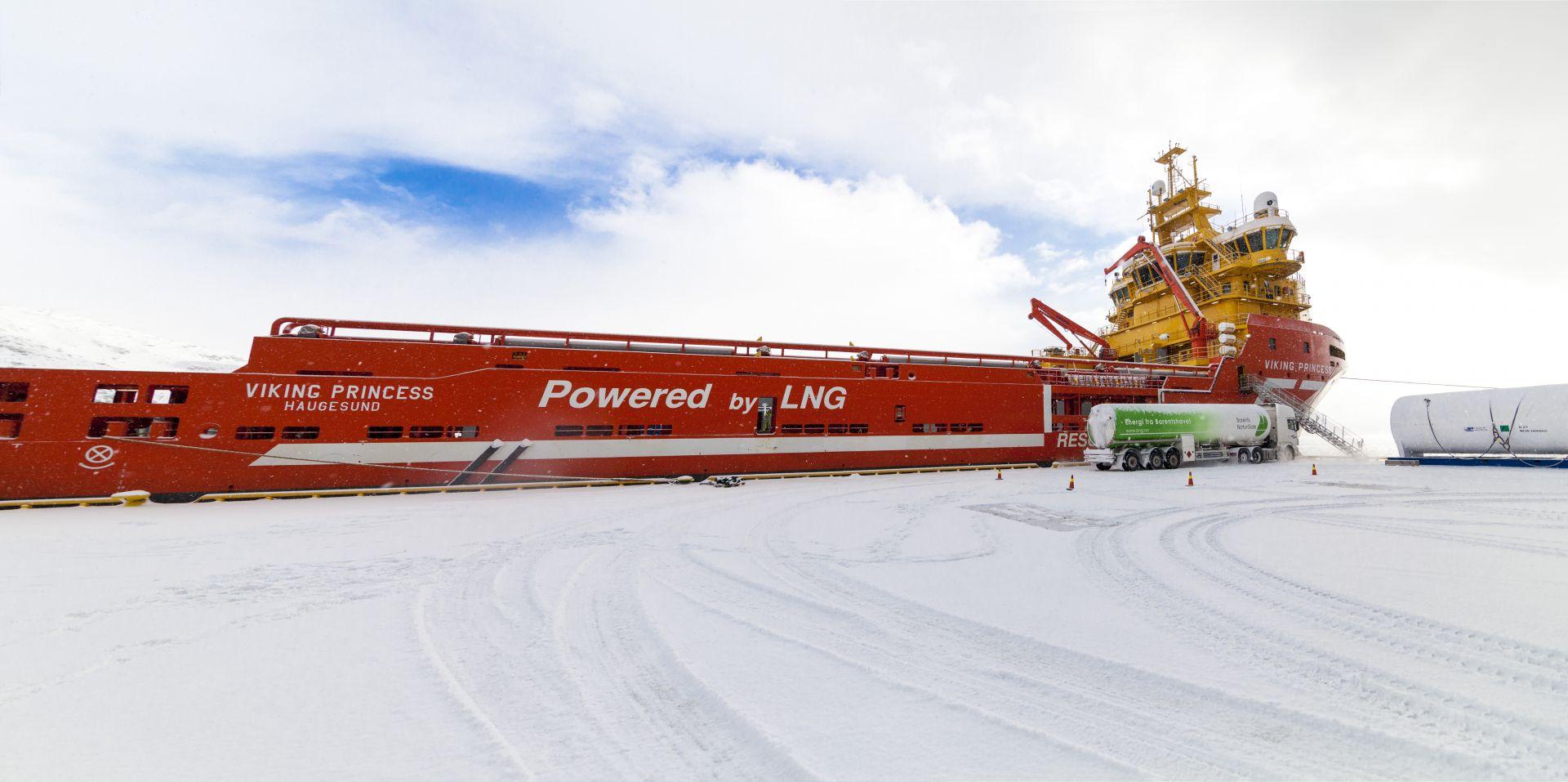 V Marine Fuels B.v LNG Marine Fuel - Broa...