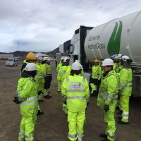 BNG molgas safety training LNG Hammerfest